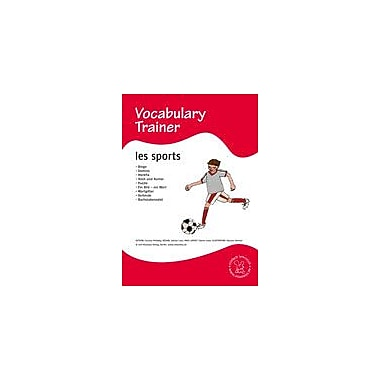 Miamaus Verlag Publishing French Vocabulary Trainer: Sports Language Arts Workbook, Grade 1 - Grade 5 [eBook]