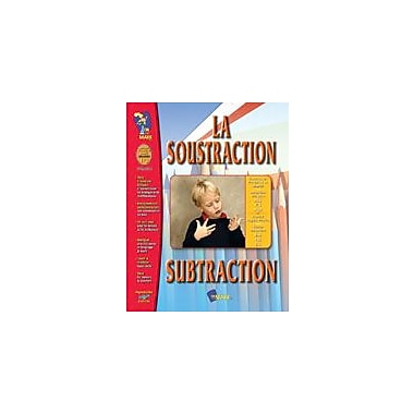 On The Mark Press La Soustraction/Subtraction (French/English) Math Workbook, Grade 1 - Grade 3 [eBook]