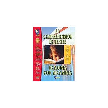 On The Mark Press La Comprehension De Textes/Reading For Meaning (French/English) Workbook, Grade 1 - Grade 3 [eBook]