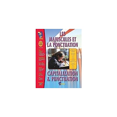 On The Mark Press Les Majuscules Et La Ponctuation/Capitalization and Punctuation (French/English) Workbook [eBook]