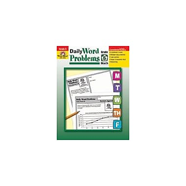 Evan-Moor Educational Publishers Daily Word Problems: Grade 5 Math Workbook, Grade 5 [Enhanced eBook]