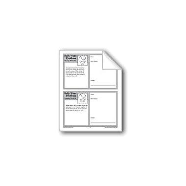 Evan-Moor Educational Publishers Baseball (Grade 6+ Daily Word Problems-Week 29) Math Workbook, Grade 6 - Grade 8 [eBook]