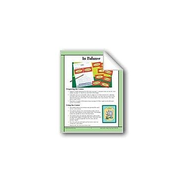 Evan-Moor Educational Publishers In Balance (Equivalent Weights) Math Workbook, Grade 4 - Grade 6 [eBook]