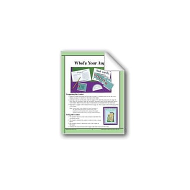 Evan-Moor Educational Publishers What's Your Angle? (Coordinate Graphing, Measuring Angles) Workbook, Grade 4 - Grade 6 [eBook]