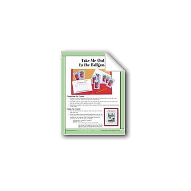 Evan-Moor Educational Publishers Take Me Out to the Ballgame (Means and Medians/Word Problems) Workbook [eBook]