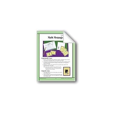 Evan-Moor Educational Publishers Math Messages (Understanding Math Symbols) Math Workbook, Grade 4 - Grade 6 [eBook]