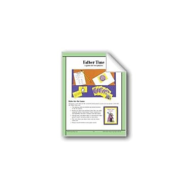 Evan-Moor Educational Publishers Father Time (Word Problems About Time) Math Workbook, Grade 4 - Grade 6 [eBook]