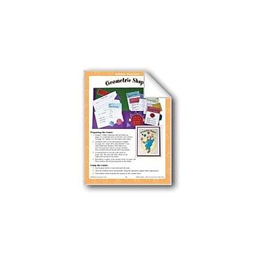 Evan-Moor Educational Publishers Building Blocks (Geometric Shapes) Math Workbook, Grade 1 - Grade 3 [eBook]