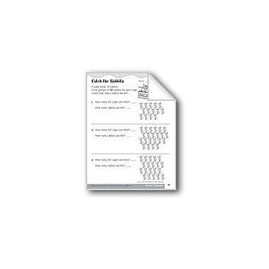 Evan-Moor Educational Publishers Count and Group Objects In Tens and Ones Math Workbook, Kindergarten - Grade 1 [eBook]