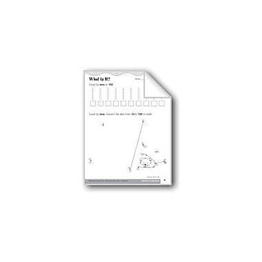 Evan-Moor Educational Publishers Count by 10s to 100 Math Workbook, Kindergarten - Grade 1 [eBook]