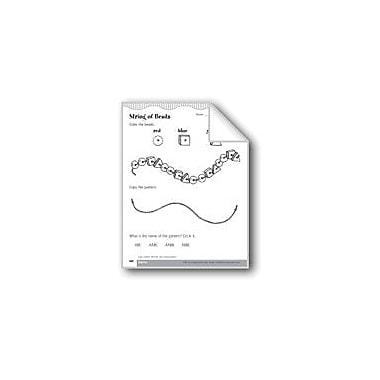 Evan-Moor Educational Publishers Copy, Extend, Describe, and Create Algebraic Patterns Workbook, Kindergarten - Grade 1 [eBook]