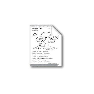 Evan-Moor Educational Publishers Give and Follow Directions About Location Math Workbook, Kindergarten - Grade 1 [eBook]