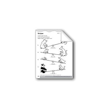 Evan-Moor Educational Publishers Compare Weight Or Liquid Volume Math Workbook, Kindergarten - Grade 1 [eBook]