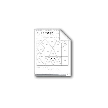 Evan-Moor Educational Publishers Comparing Whole Numbers to 1,000 Using Symbols Math Workbook, Grade 2 [eBook]
