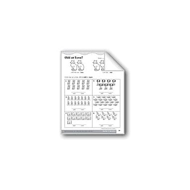 Evan-Moor Educational Publishers Odd Or Even Numbers Math Workbook, Grade 2 [eBook]