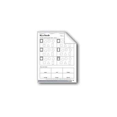 Evan-Moor Educational Publishers Plane Objects Math Workbook, Grade 2 [eBook]