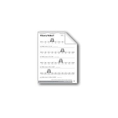 Evan-Moor Educational Publishers Where's Wilber? (Round Off Numbers) Math Workbook, Grade 3 [eBook]