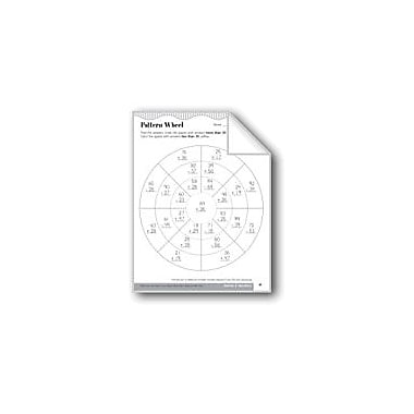 Evan-Moor Educational Publishers Pattern Wheel (Addition/Subtraction With Regrouping) Math Workbook, Grade 3 [eBook]