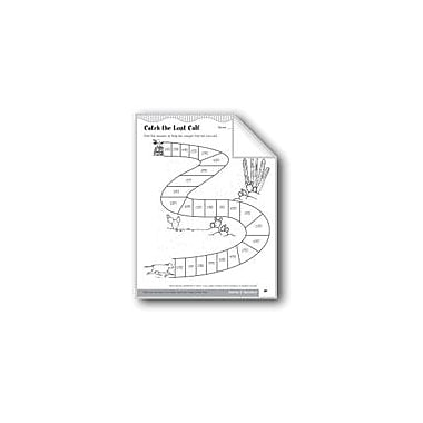 Evan-Moor Educational Publishers Catch the Lost Calf (Division of Multidigit Numbers by One-Digit Numbers) Workbook [eBook]