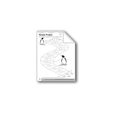 Evan-Moor Educational Publishers Hungry Penguin (Math Operations and Symbols) Math Workbook, Grade 3 [eBook]