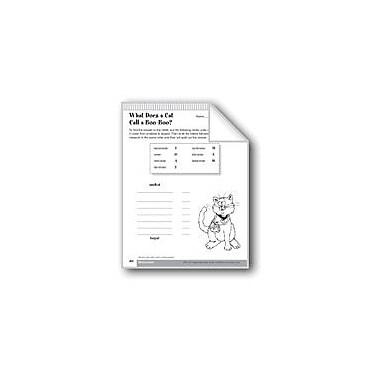 Evan-Moor Educational Publishers Identify Metric Measurements Math Workbook, Grade 4 [eBook]