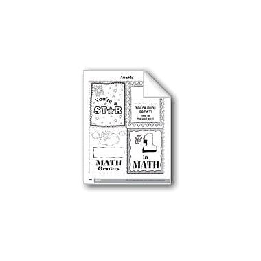 Evan-Moor Educational Publishers Practice Cards Math Workbook, Grade 4 [eBook]