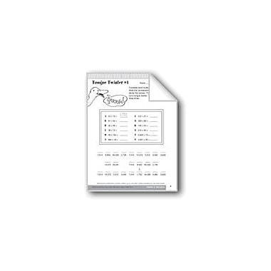 Evan-Moor Educational Publishers Multiplication of Whole Numbers Math Workbook, Grade 6 - Grade 8 [eBook]