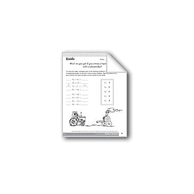 Evan-Moor Educational Publishers Addition & Subtraction of Fractions Math Workbook, Grade 6 - Grade 8 [eBook]