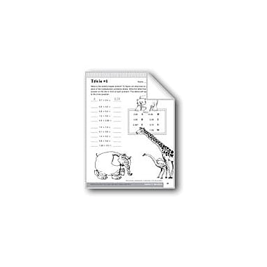 Evan-Moor Educational Publishers Multiplication of Decimals Math Workbook, Grade 6 - Grade 8 [eBook]