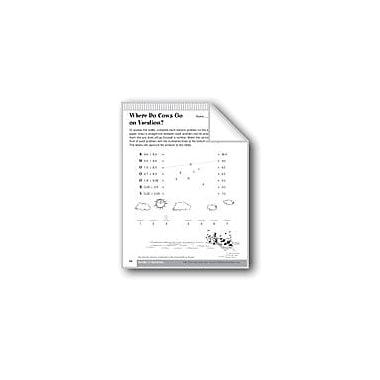 Evan-Moor Educational Publishers Division of Decimals Math Workbook, Grade 6 - Grade 8 [eBook]