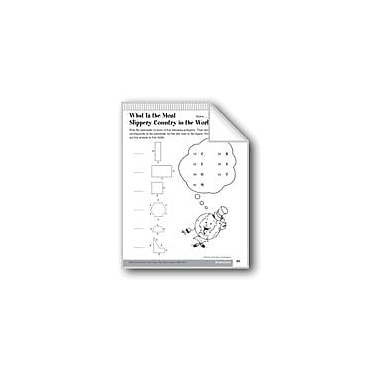 Evan-Moor Educational Publishers Perimeter of Polygons Math Workbook, Grade 6 - Grade 8 [eBook]