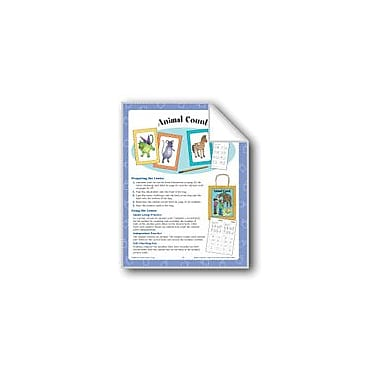 Evan-Moor Educational Publishers Animal Count (Counting) Math Workbook, Kindergarten - Grade 1 [eBook]