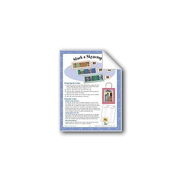 Evan-Moor Educational Publishers Stack A Skyscraper (Counting by 10s) Math Workbook, Kindergarten - Grade 1 [eBook]