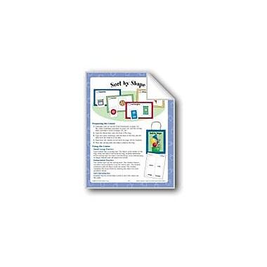 Evan-Moor Educational Publishers Sort by Shapes (Geometric Shapes) Math Workbook, Kindergarten - Grade 1 [eBook]