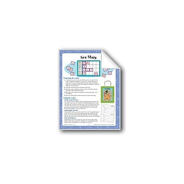 Evan-Moor Educational Publishers Sea Stars (Graphing and Counting) Math Workbook, Kindergarten - Grade 1 [eBook]