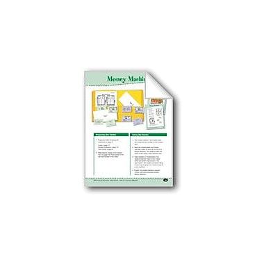 Evan-Moor Educational Publishers Money Machines (Function Tables With Money) Math Workbook, Grade 2 - Grade 3 [eBook]