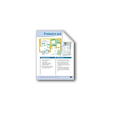 Evan-Moor Educational Publishers Perimeter and Area (Calculating Perimeter & Area) Math Workbook, Grade 2 - Grade 3 [eBook]