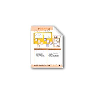 Evan-Moor Educational Publishers Perimeter and Area (Calculation) Math Workbook, Grade 3 - Grade 4 [eBook]