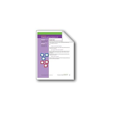 Evan-Moor Educational Publishers Recognizes and Names Numbers to 10 (Math Assessment Prek) Math Workbook, Preschool [eBook]