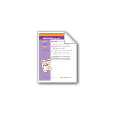 Evan-Moor Educational Publishers Identifies and Classifies Plane Shapes Math Workbook, Grade 1 [eBook]