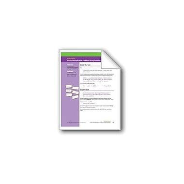 Evan-Moor Educational Publishers Solves Multiplication Problems Using Addition Math Workbook, Grade 2 [eBook]