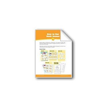 Evan-Moor Educational Publishers Math Games: How to Use & Make Math Games Math Workbook, Grade 1 - Grade 2 [eBook]