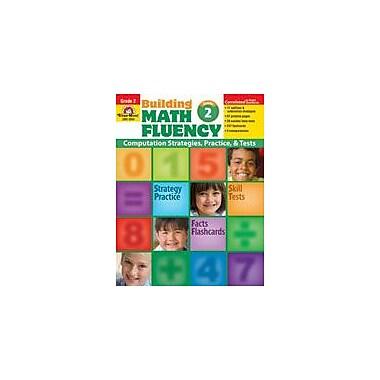 Evan-Moor Educational Publishers Building Math Fluency Math Workbook, Grade 2 [Enhanced eBook]