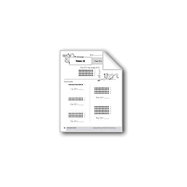 Evan-Moor Educational Publishers Multiplication Strategies: Times 10 Math Workbook, Grade 3 [eBook]