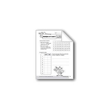 Evan-Moor Educational Publishers Multiplication Strategies: Multiples of 3 & 6 Math Workbook, Grade 3 [eBook]