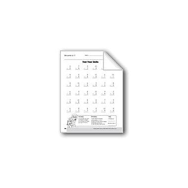 Evan-Moor Educational Publishers Subtraction Tests Math Workbook, Grade 3 [eBook]
