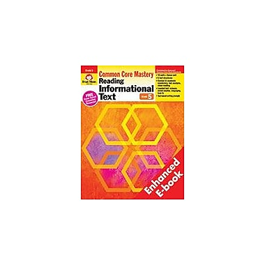 Evan-Moor Educational Publishers Reading Informational Text: Common Core Mastery, E-Book Workbook, Grade 5 [eBook]
