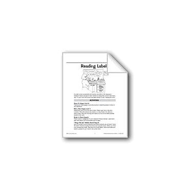 Evan-Moor Educational Publishers Reading Labels In the Classroom Language Arts Workbook, Grade 1 - Grade 3 [eBook]