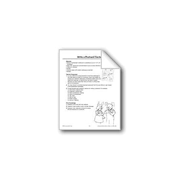 Evan-Moor Educational Publishers Write A Postcard Center Language Arts Workbook, Grade 1 - Grade 3 [eBook]