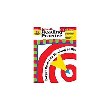 Evan-Moor Educational Publishers Authentic Reading Practice Language Arts Workbook, Grade 1 - Grade 3 [Enhanced eBook]